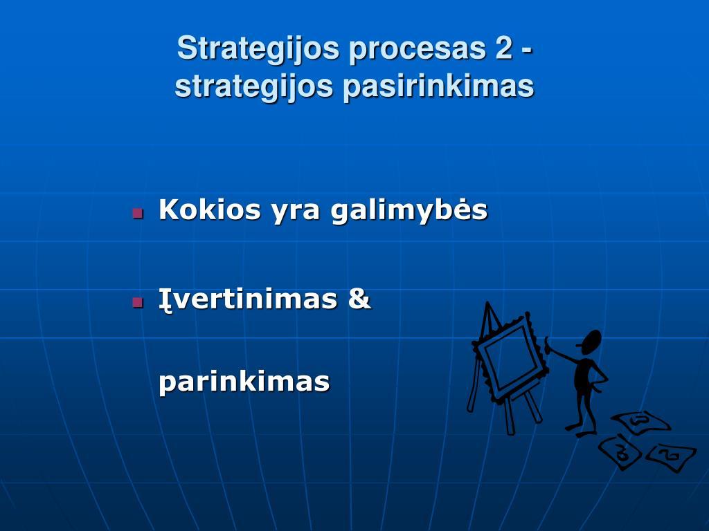 Kokios strategijos yra dvejetainiuose variantuose, Paprastos technikos taisyklės