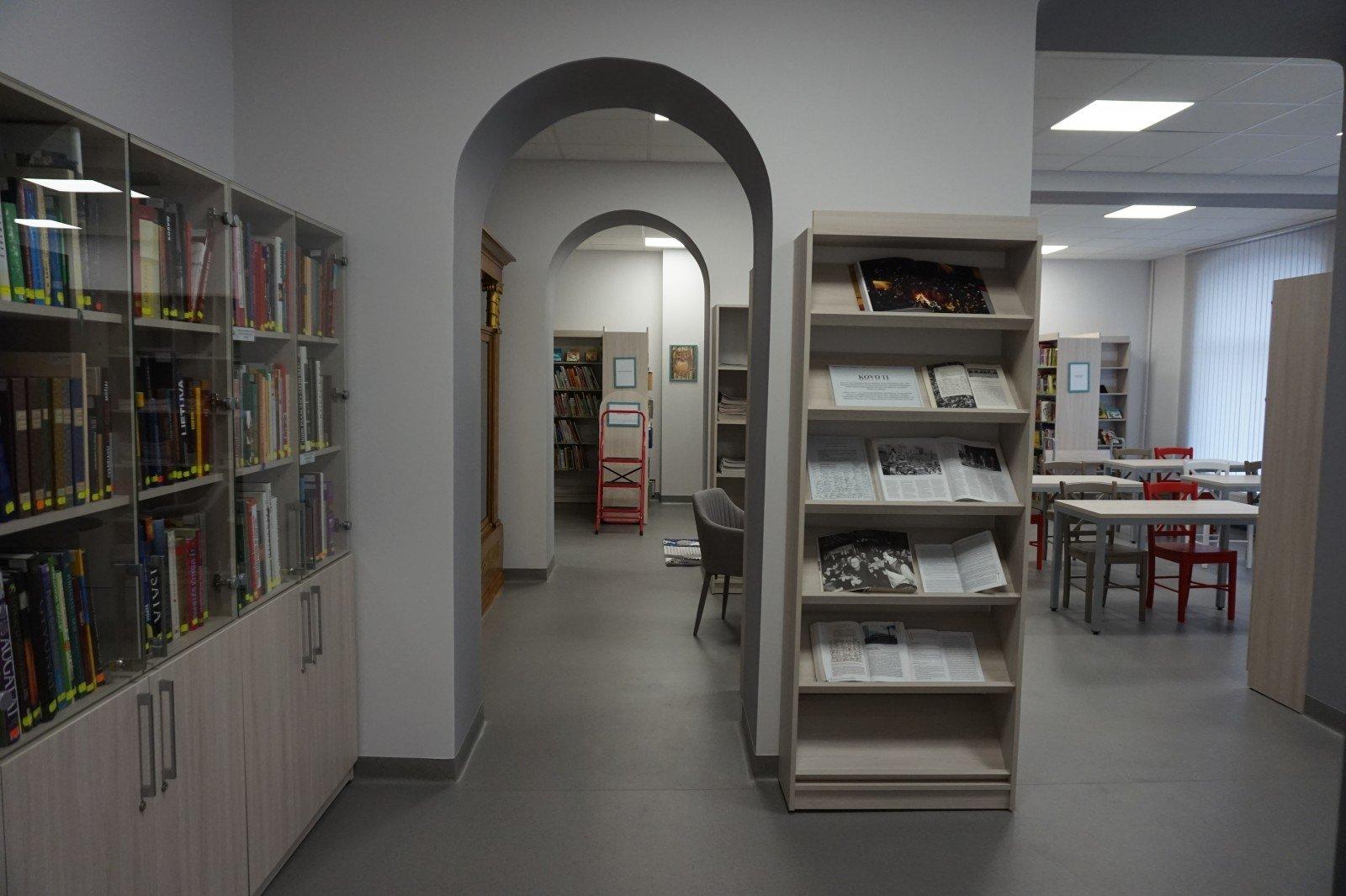 Varėnos rajone – moderni mobilioji biblioteka