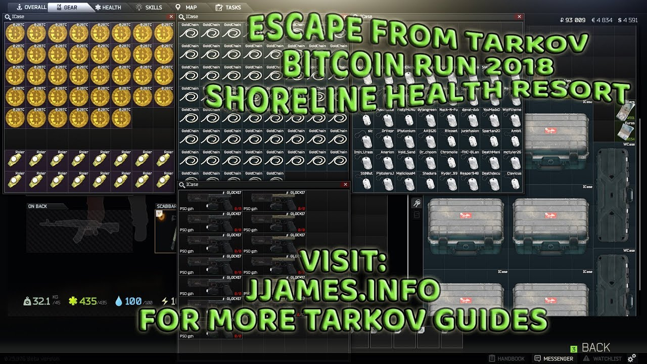 kur rasti bitkoinų tarkov