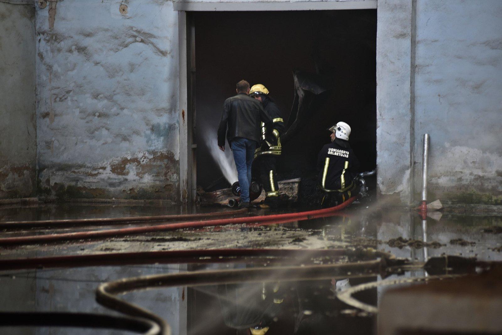 Apsauga nuo ugnies su OBO sistema, Gaisro variantas