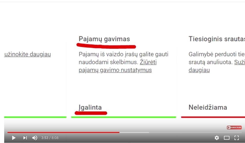 vaizdo įrašų pajamos iš dvejetainių opcionų