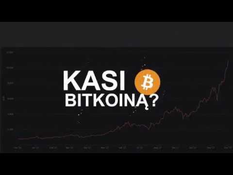 rasti bitkoiną