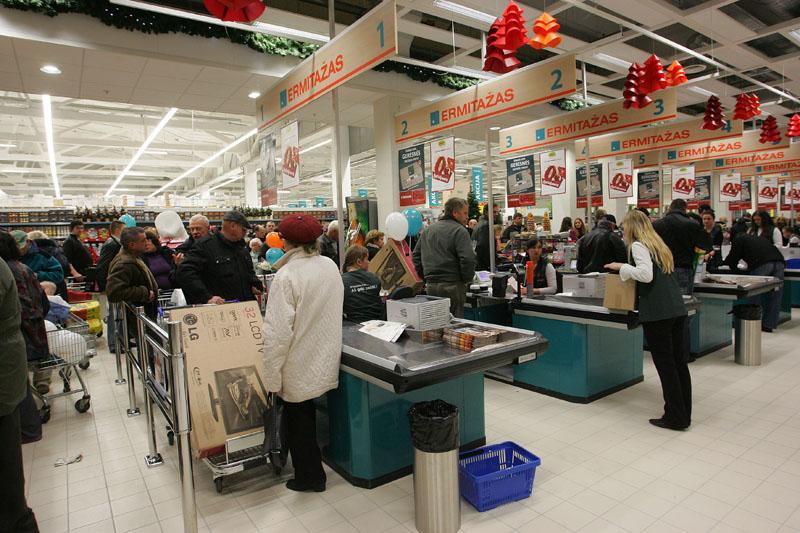 prekybos centras Estijoje