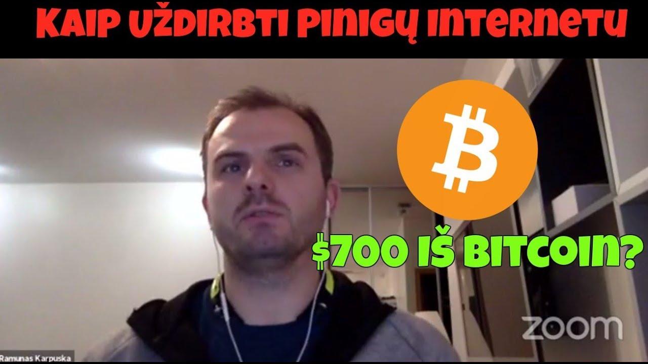 Vaizdo pamoka užsidirbti pinigų internetu