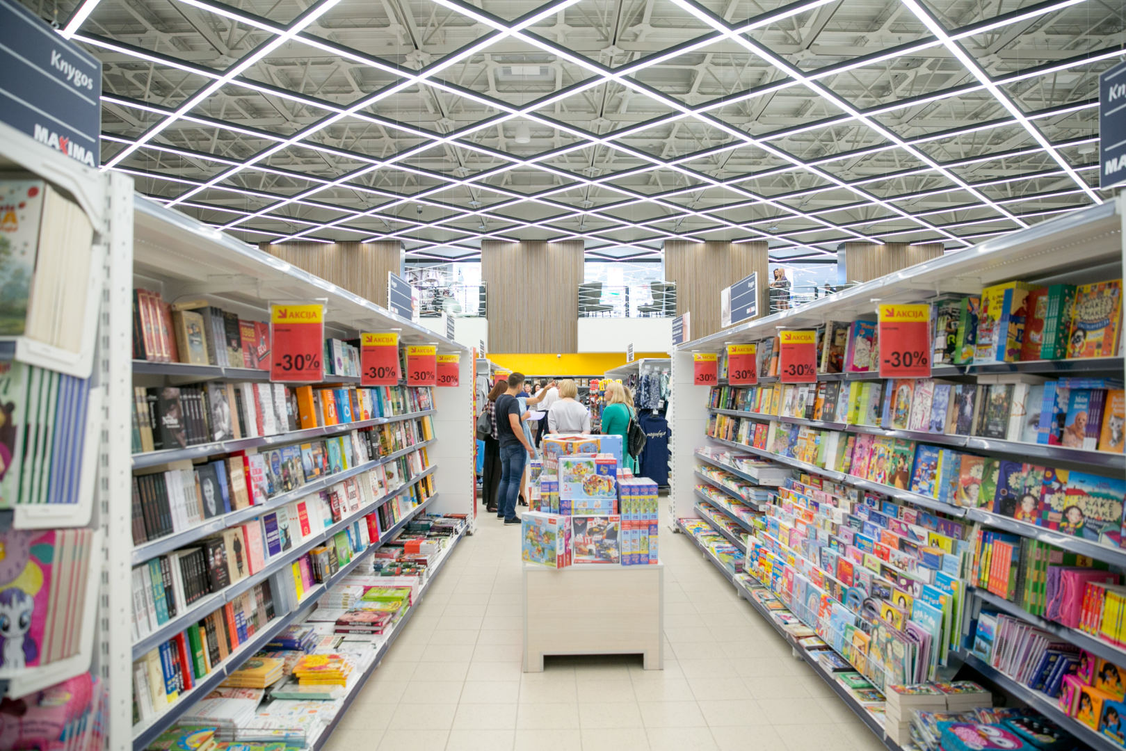 prekybos centro atidarymas